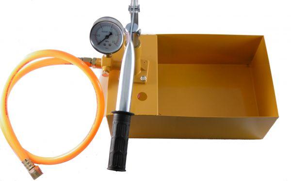 Abdrückpumpe Druck-prüfpumpe Prüfpumpe Druckprobepumpe Druckprobe Rohr Abdrücken