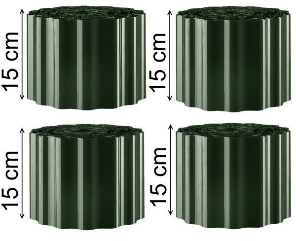 36m Rasenkante Beeteinfassung 0,59€/m Rasen Beet Begrenzungen Einfassungen grün