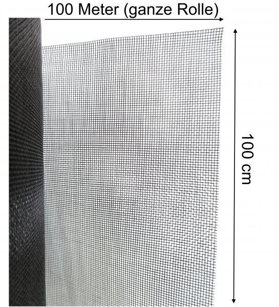 Fliegennetz Fliegengitter Insektenschutz Mückengaze Fiberglas 1m x 100m Rolle