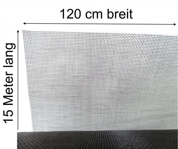 Insektengitter Mückennetz Insektengaze Mückengaze aus Fiberglas 120cm x 15m lang
