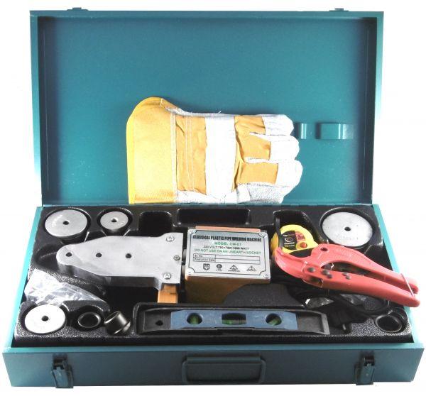 Muffen-Schweißgerät PPR-Rohr 20-63 mm Stumpfschweißgerät Heizelement -1500W PP-R