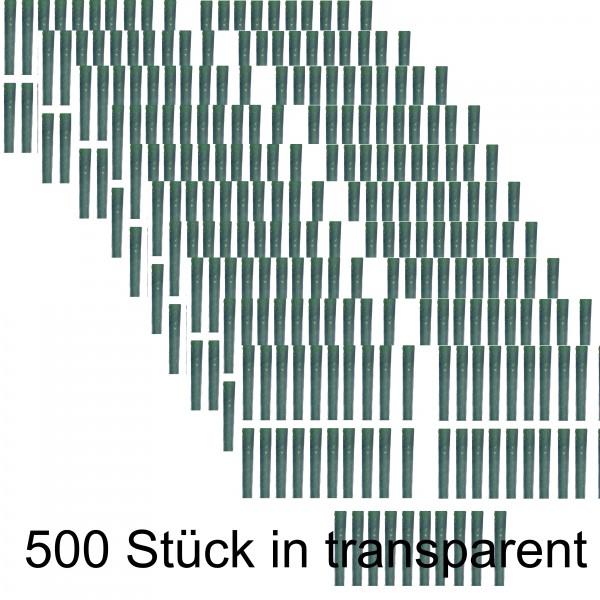500 Stk. Baumschutz transparent