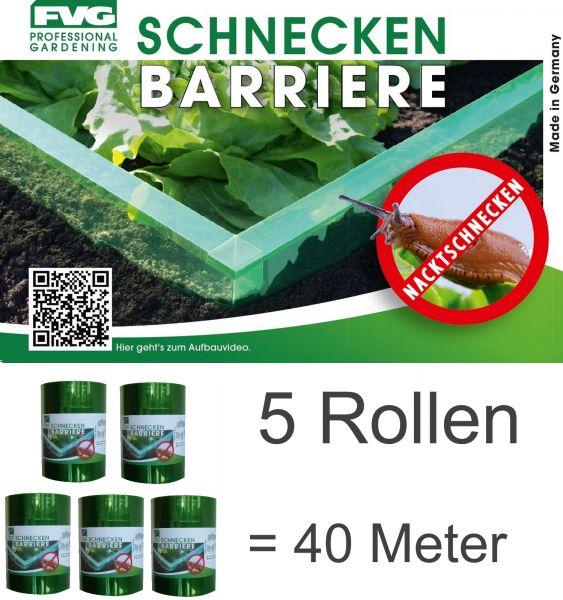 40m Schnecken Barrierer Schnecken-schutz Schnecken-sperre Schnecke Abwehr Beete Schneckenzaun