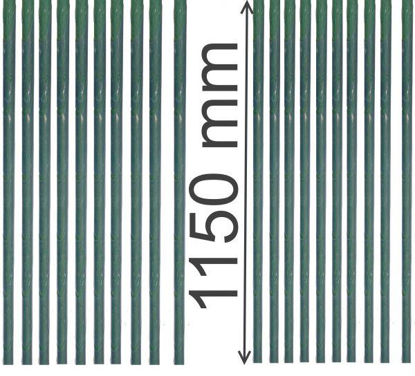 20 x je 115cm Baum Stamm-schutz Schonung Fraß-schäden Rinden-schutz transparent Schutzmanschette