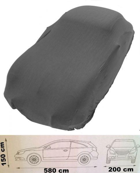 Autoabdeckung bis 5,8 m Soft Innen Auto Cover Ganzgarage Schutzdecke grau Schutz Hülle Oldtimer