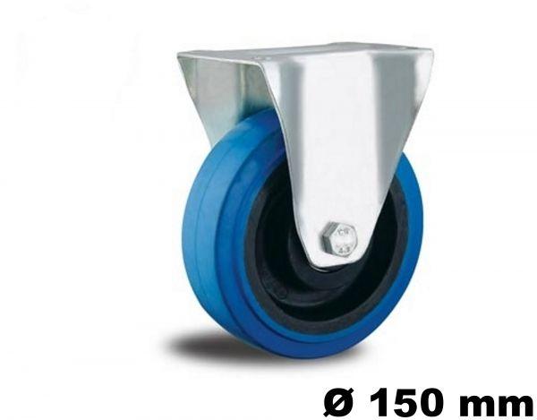 Bock Rollen Transportrolle 150 mm Rollen Blue Wheel Besonders leiser Lauf blaue Lauf Fläche