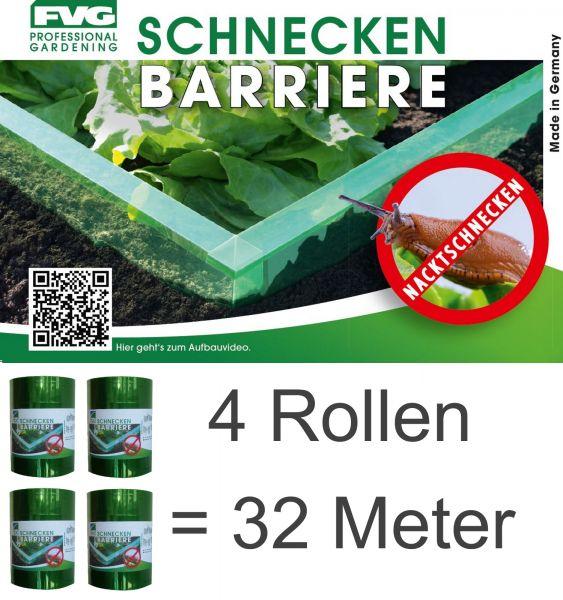 32m Schnecken Abwehr Schnecken-schutz Schneckensperre Schnecke Barriere Salat Schneckenzaun