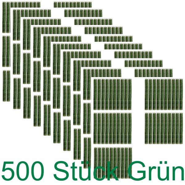 500 Baum Schutz Spiralen in grün