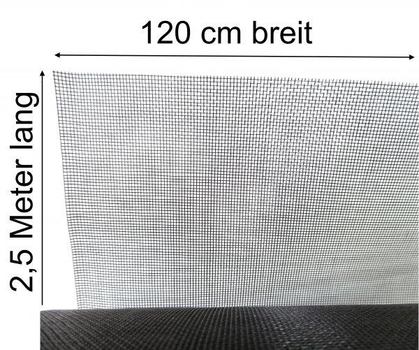 Fliegennetz Fliegengitter Mückengitter Mückengaze aus Fiberglas 1,2m x 2,5m lang