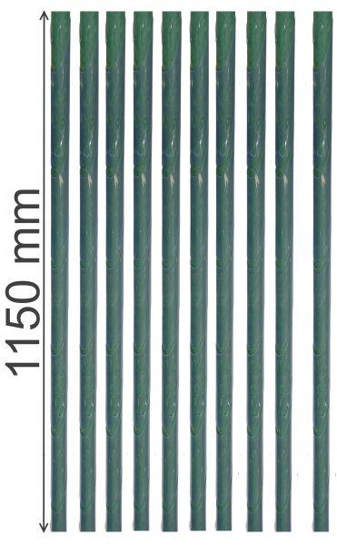 10Stk. Stammschutz 115 cm lang Rindenschutz Wildschutz Baumschutz transparent Schutz Manschette