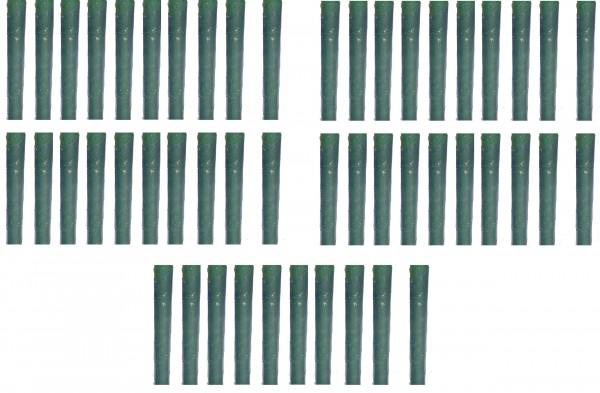 50 Stk Spiralen Verbißschutz Schutz tranparent