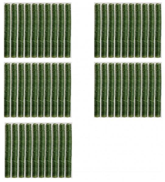 50 x Baum Manschette grün