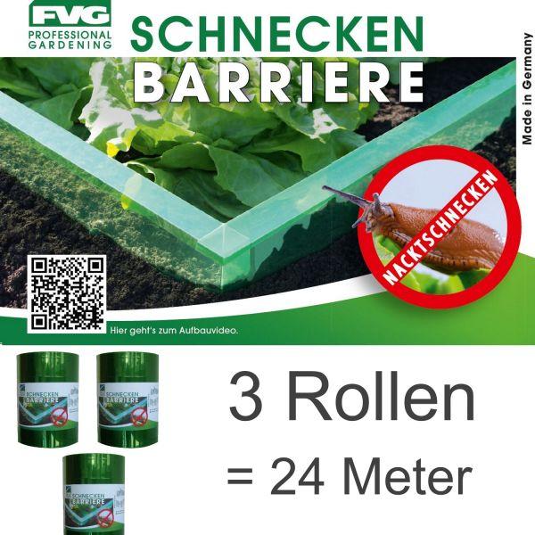 24m Schnecken Abwehr Schnecken-schutz Schneckensperre Schnecke Barriere Salat Schneckenzaun