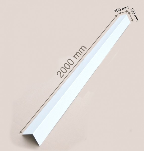 Winkelprofil 100 mm x 100 mmAlu Winkel Aluprofil Aluminium L Profile Alubleche Dachbleche