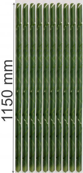 10 Baumschutz Spiralen Stamm-schutz 115 cm lang Fraßschäden Baum Rinden Schutz Schälschutz