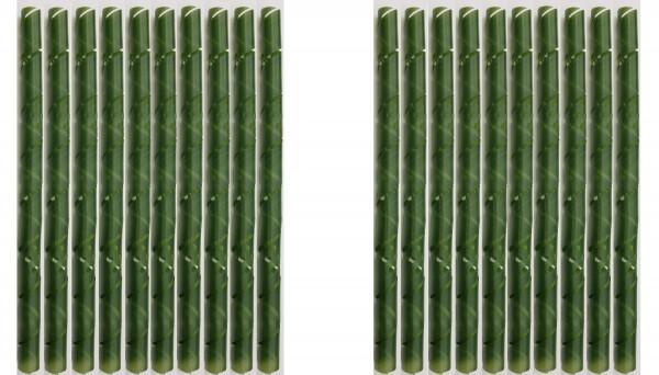 20 x Stammschutz Spieralen Ø 3,5cm grün
